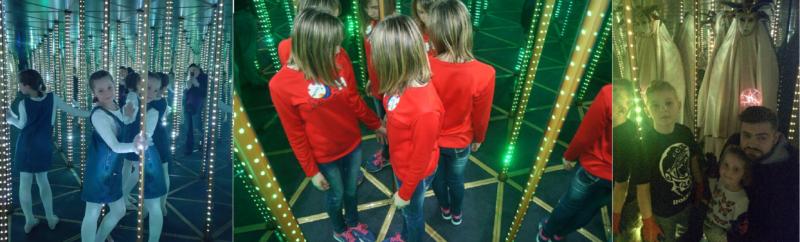 sky maze - зеркальный лабиринт