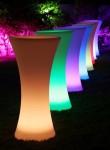 Светодиодная мебель (цветники и лампы)