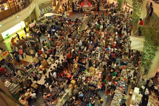Как привлечь людей в торговый центр