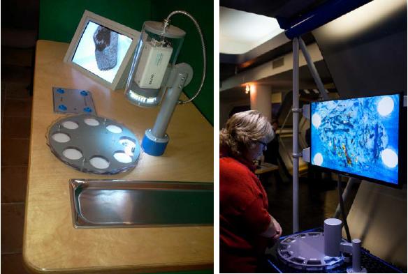видео-микроскоп