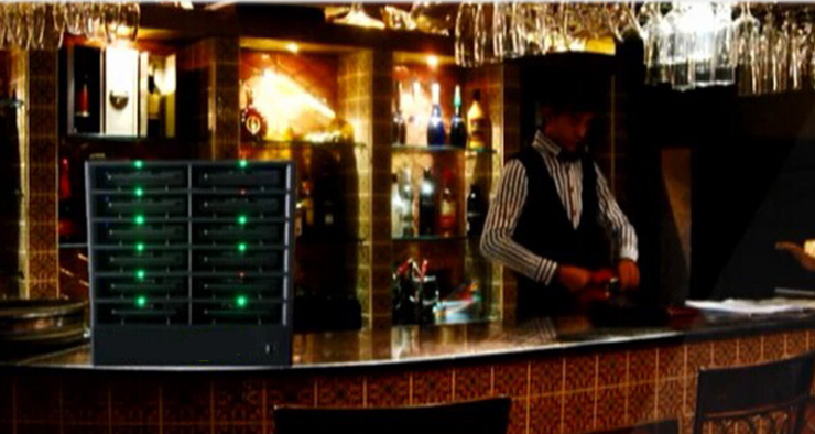 зарядные станции в ресторан