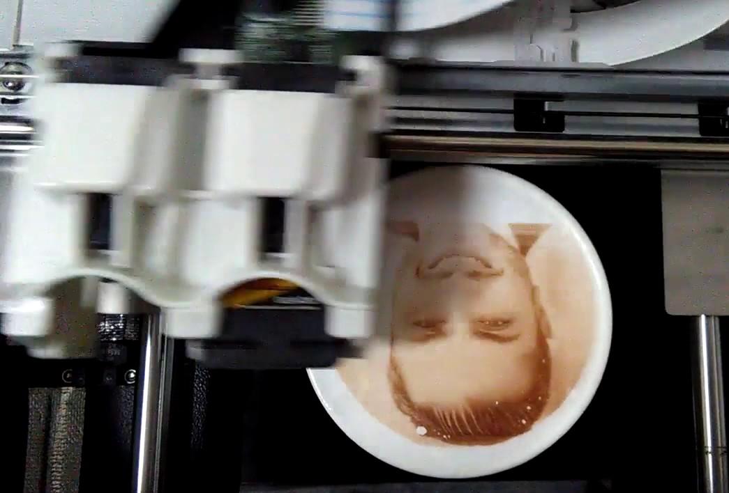 нас аппарат для нанесения фото на кофе этом даже недорогих